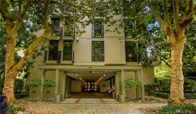 Seattle Condo/Townhouse For Sale: 730 Bellevue Ave E #PH4