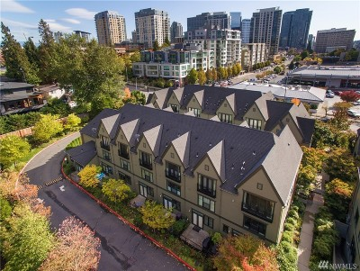 Bellevue Condo/Townhouse For Sale: 10595 NE 12th Place #105
