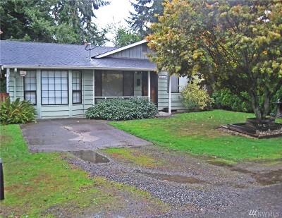 Tacoma WA Single Family Home For Sale: $262,000