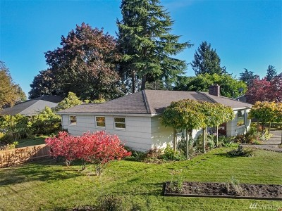 Puyallup Single Family Home For Sale: 333 18th St NW