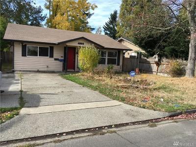 Tacoma Single Family Home For Sale: 4906 E M St