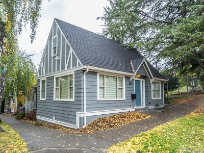 Seattle Single Family Home For Sale: 4015 8th Ave NE
