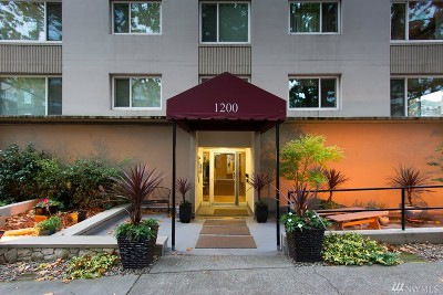 Seattle Condo/Townhouse For Sale: 1200 Boylston Ave #402