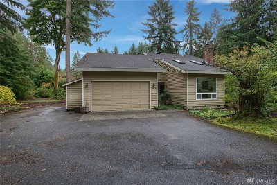 Woodinville Single Family Home For Sale: 18814 185th Ave NE
