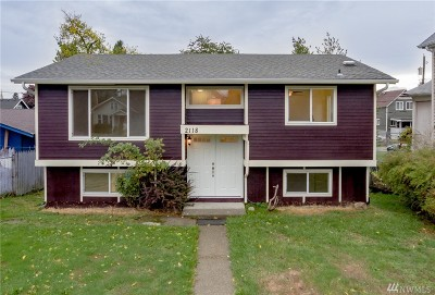 Tacoma Single Family Home For Sale: 2118 S M St