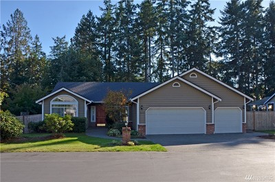 Gig Harbor Single Family Home For Sale: 3602 59th St Ct NW