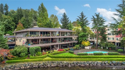 Kirkland Condo/Townhouse For Sale: 4437 Lake Washington Blvd NE #201