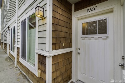 Seattle Single Family Home For Sale: 916 N 74th St #C