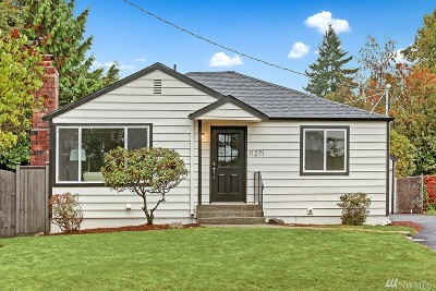 Seattle Single Family Home For Sale: 11271 35th Ave SW
