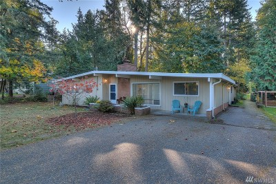 Gig Harbor Single Family Home For Sale: 1702 Fawn Ct NW