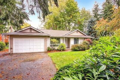 Bellevue Single Family Home For Sale: 12626 SE 68th Place