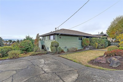 Seattle Single Family Home For Sale: 5646 37th Ave SW