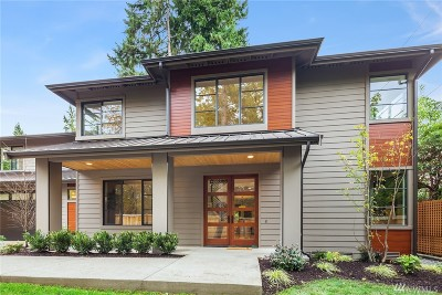 Mercer Island Single Family Home For Sale: 4841 90th Ave SE