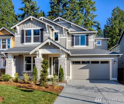 Bothell Single Family Home For Sale: 19018 84th (Lot #3) Place NE