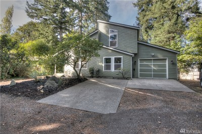 Tumwater Single Family Home For Sale: 1218 Irving St SW
