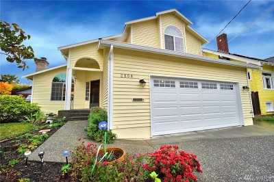 Seattle Single Family Home For Sale: 2808 NW 63rd St