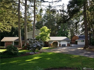 Spanaway Single Family Home For Sale: 4222 260th St E