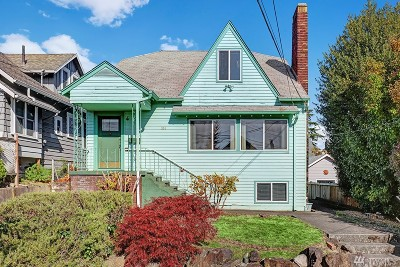 Seattle Single Family Home For Sale: 914 N 79th St