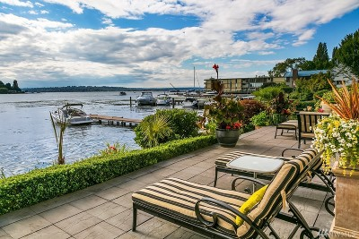 Kirkland Condo/Townhouse For Sale: 4507 Lake Washington Blvd NE
