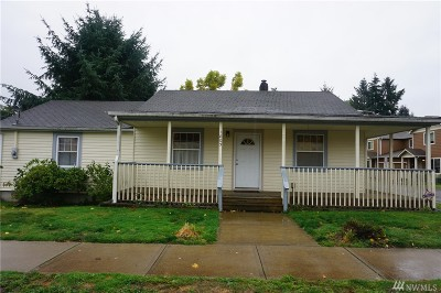 Single Family Home For Sale: 1603 Bishop Rd SW