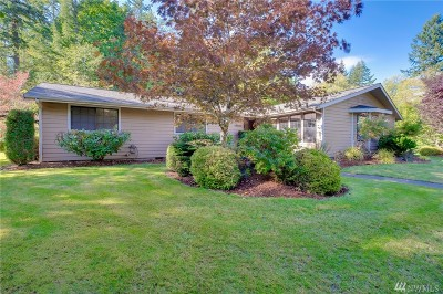Port Orchard Single Family Home For Sale: 9320 Lawrence Dr SE