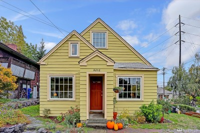 Seattle Single Family Home For Sale: 4202 4th Ave NE