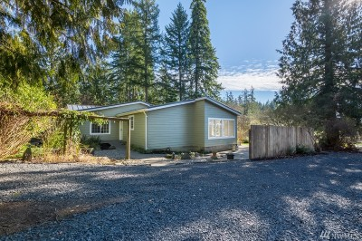 Single Family Home For Sale: 689 Middle Fork Rd