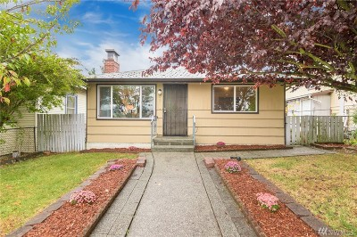 Seattle Single Family Home For Sale: 9441 18th Ave SW