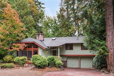 Kirkland Single Family Home For Sale: 12230 NE 97th St