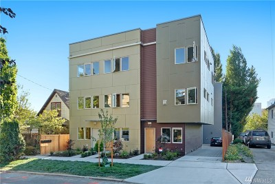 Seattle Single Family Home For Sale: 709 15 Th Ave