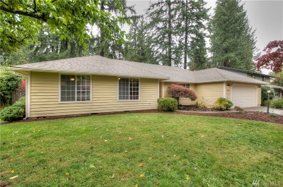 Olympia Single Family Home For Sale: 723 Fox Run Dr NW