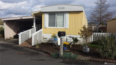 Puyallup WA Mobile Home For Sale: $18,000