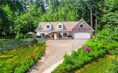 Woodinville Single Family Home For Sale: 17313 220th Place NE