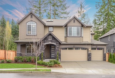 Sammamish Single Family Home For Sale: 24389 NE 26th (Lot 1) Ct