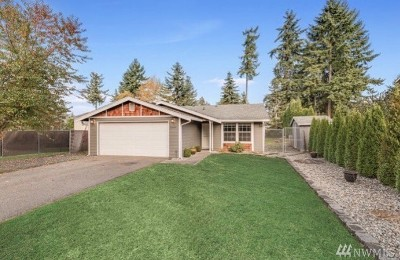 Puyallup Single Family Home For Sale: 15409 120th Ave E