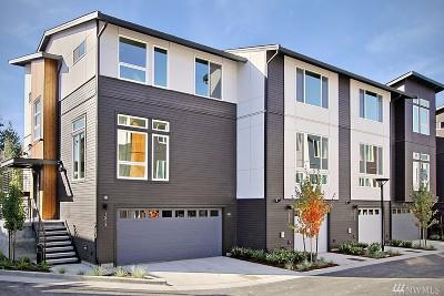 Bellevue Condo/Townhouse For Sale: 1546 139th Ct NE