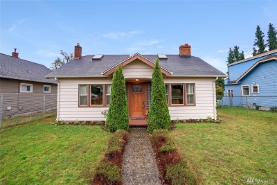 Tacoma Single Family Home For Sale: 3835 McKinley Ave