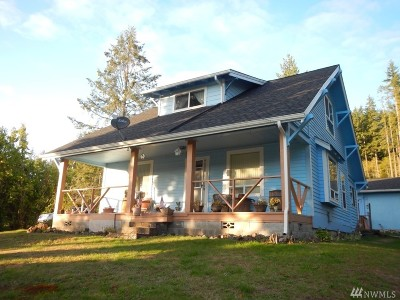 Chehalis Single Family Home For Sale: 1038 Pleasant Valley Rd