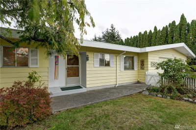 Bellingham WA Single Family Home For Sale: $309,000