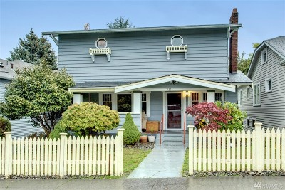 Seattle Single Family Home For Sale: 5314 8th Ave NE