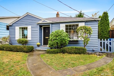 Seattle Single Family Home For Sale: 9045 15th Ave SW