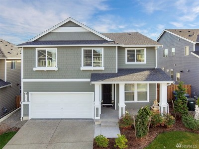 Spanaway Single Family Home For Sale: 19535 19th Av Ct E
