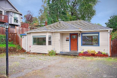 Seattle Single Family Home For Sale: 7565 S 120th St