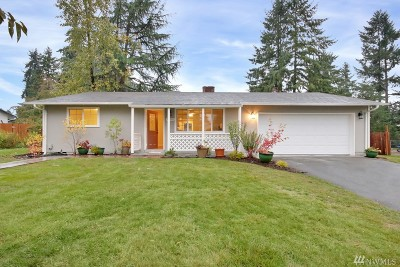 Puyallup WA Single Family Home For Sale: $260,000
