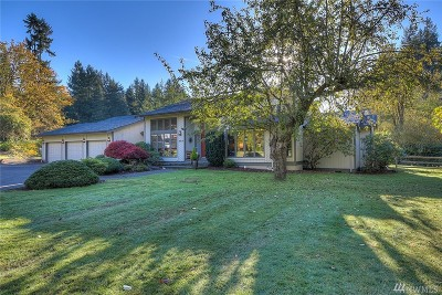 Gig Harbor Single Family Home For Sale: 4816 52nd St Ct NW