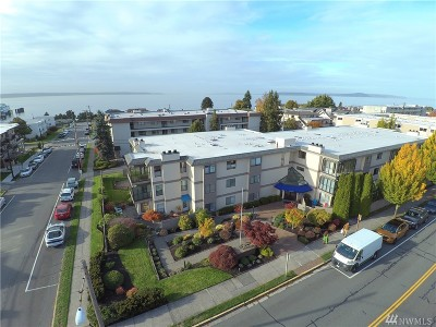 Edmonds Condo/Townhouse For Sale: 201 3rd Ave N #102