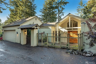 Bellingham WA Single Family Home For Sale: $750,000