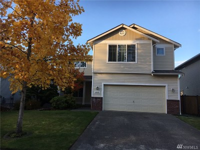 Puyallup Single Family Home Contingent: 14003 176th St E