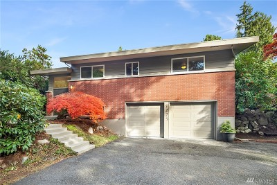 Edmonds Single Family Home For Sale: 9225 192nd Place SW