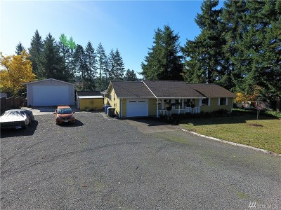 Centralia Single Family Home For Sale: 1208 Ham Hill Rd